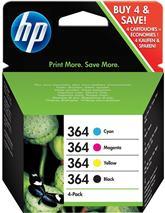 Cartridge HP 364 (N9J73AE) Bk/C/M/Y combo pack - originál
