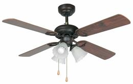 Stropný ventilátor so svietidlom FARO 33102 LISBOA