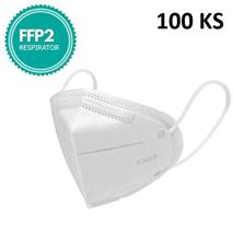 Respirátor FFP2 - KN95, bez výdychového ventilu, 100ks