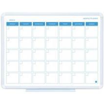 Plánovacia tabuľa mesačná, magnetická, 45x60 cm