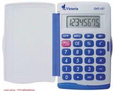 """Kalkulačka, vrecková, 8 miestny displej, VICTORIA \""""GVZ-127"""