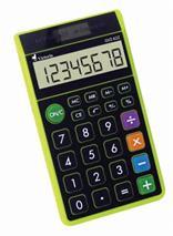 """Kalkulačka, vrecková, 8 miestny displej, ekologická, VICTORIA \""""GVZ-62Z\"""", zelená"""
