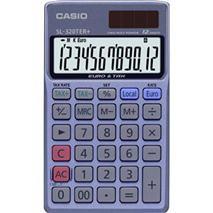 """Kalkulačka, vrecková, 12 miestny displej, CASIO \""""SL 320 TER+"""