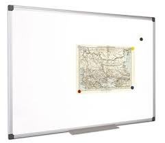 "Biela tabuľa \""Classic\"", utierateľná, nemagnetická, 60x90 cm"