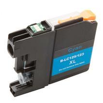 Cartridge Brother LC123C, azúrová (cyan), kompatibilný