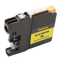 Cartridge Brother LC123Y, žltá (yellow), kompatibilný