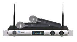 Mikrofon bezdrôtový UHF SE-300 2-kanal.