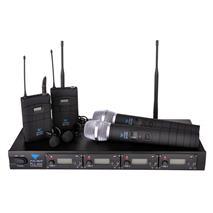 Mikrofon bezdrôtový PLL-400 UHF 4-kan(2+2)