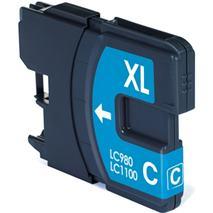 Cartridge Brother LC980C, azúrová (cyan), kompatibilný