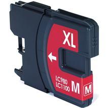 Cartridge Brother LC980M, purpurová (magenta), kompatibilný