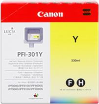 Cartridge Canon PFI-301Y, žltá (yellow), originál