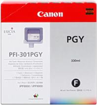 Cartridge Canon PFI-301PGY, foto sivá (photo gray), originál