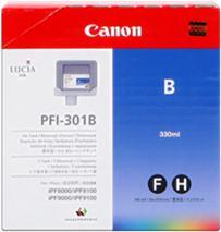 Cartridge Canon PFI-301B, modrá (blue), originál