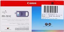 Cartridge Canon PFI-701C, azúrová (cyan), originál