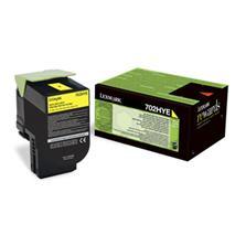 Toner Lexmark CS310/CS410/CS510 702HY YELLOW 3K