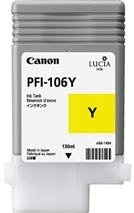 Cartridge Canon PFI-106Y, žltá (yellow), originál