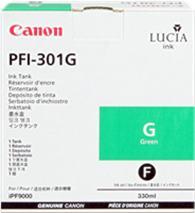 Cartridge Canon PFI-301G, zelená (green), originál