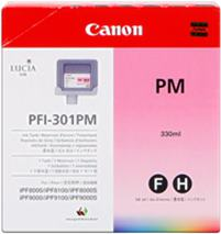 Cartridge Canon PFI-301PM, foto purpurová (photo magenta), originál