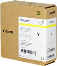 Cartridge Canon PFI-306Y, žltá (yellow), originál