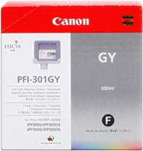 Cartridge Canon PFI-301GY, sivá (gray), originál