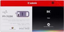 Cartridge Canon PFI-702BK, čierna (black), originál