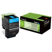 Toner Lexmark CS310/CS410/CS510 702C CYAN 1K