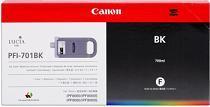 Cartridge Canon PFI-701BK, čierna (black), originál