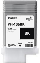 Cartridge Canon PFI-106BK, čierna (black), originál