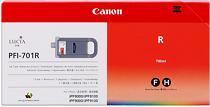 Cartridge Canon PFI-701R, červená (red), originál