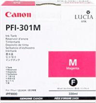 Cartridge Canon PFI-301M, purpurová (magenta), originál