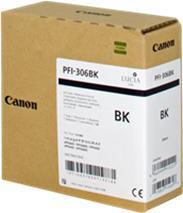 Cartridge Canon PFI-306BK, čierna (black), originál