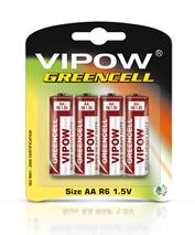 Bateria WIPOV GREENCELL R06 (4ks)