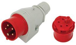Prívodka nástenná 32A/400V/5P IP44 117 TAREL