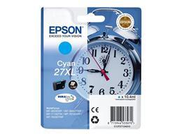 Cartridge EPSON T2712 (C13T27124010) 27XL cyan - originálny