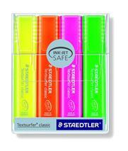 Zvýrazňovač, sada, 1-5 mm, STAEDTLER, 4 rôzne farby