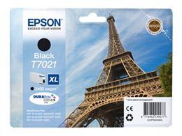 Cartridge EPSON T7021 XL (C13T70214010) black - originál