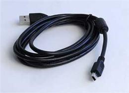 Kabel USB A-MINI 5PM 2.0 1,8m HQ s ferrit. jádrem