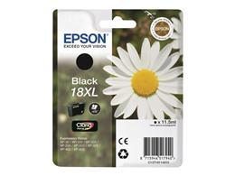 Cartridge EPSON T1811 (C13T18114010) 18XL black - originál