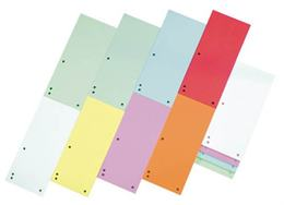 Rozraďovač, kartónový, DONAU, mix farieb