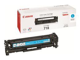 Toner CANON CRG-718 cyan - originál