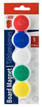 Magnetky, 30 mm, 5 farieb