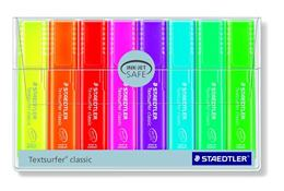 Zvýrazňovač, sada, 1-5 mm, STAEDTLER, 8 rôznych farieb