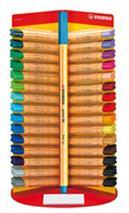 """Liner, displej, 0,4 mm, STABILO \""""Point 88\"""", mix farieb"""