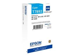 Cartridge EPSON T7892 (C13T789240) cyan XXL (4.000 strán) - originál