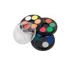 Vodové farby KOH 171554, okrúhle, 18 farieb