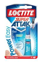 Sekundové lepidlo LOCTITE Super Attak Power Easy Gel 3 g, (Henkel)