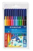 """Fixky, sada, 1 mm, STAEDTLER \""""Triplus\"""", 8+2 rôznych farieb"""