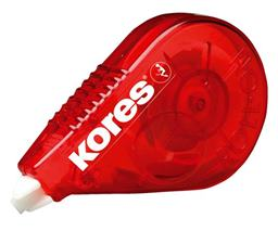 "Korekčný roller, 4,2 mm x 8,5 m, KORES ""Roll On"", červený"