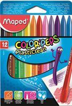 """Voskovky, MAPED \""""Color Peps\"""", 12 rôznych farieb"""