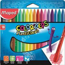 """Voskovky, MAPED \""""Color\Peps\"""", 18 rôznych farieb"""